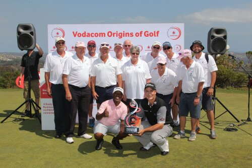 Simola VOG Final winner, Jaco Prinsloo with team